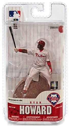 McFarlane Toys MLB 3 Inch Sports Picks Series 6 Mini Figure Ryan Howard (Philadelphia Phillies) Sox)