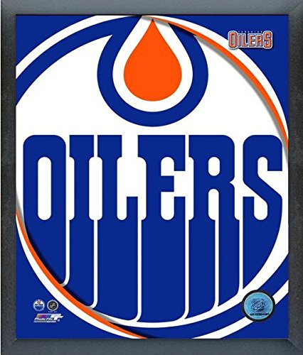 Edmonton Oilers NHL Team Logo Photo (Size: 12
