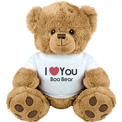 I Heart You Boo Bear Love: Medium Plush Teddy Bear