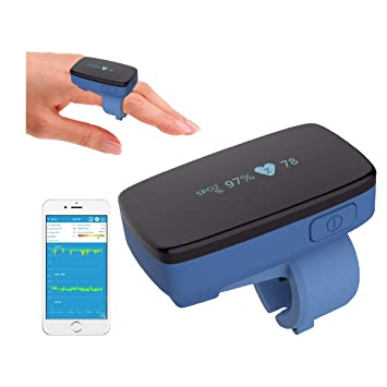 Sleep Monitor- Pulse Oximeter Alarm- Oxygen Monitor Finger