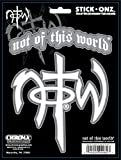notw decal - Chroma 009982 Not Of This World Stick Onz Decal