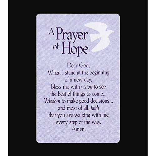 Pocket Card Bookmark Pack of 12 - A Prayer of Hope