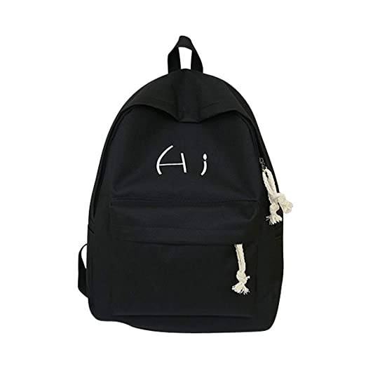 9b53550f889a Amazon.com: Clearance Sales Backpack, MaxFox Unisex Canvas Letter ...