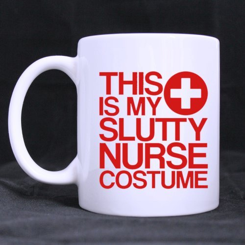 [Simple White Mug - Design For Nurses Funny Style