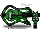 St Patricks Clover Confetti Decal Style Skin - fits Warriors Of Rock Guitar Hero Guitar (GUITAR NOT INCLUDED)