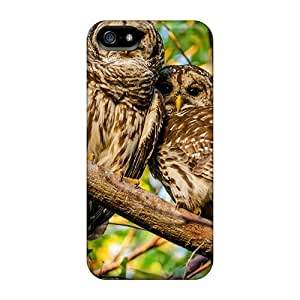 Awesome Design Mottled Owl Hard Case Cover For Iphone 5/5s
