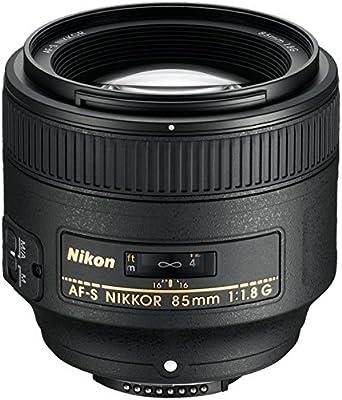 Nikon 85 mm f/1.8G Auto Focus-s Nikkor Lente para Nikon Cámaras ...