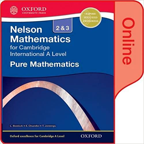 Nelson Pure Mathematics 2 and 3 for Cambridge International A Level: Online Student Book