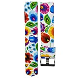 VESNIBA Colorful New Fashion Sports Silicone Bracelet Strap Band For Fitbit Charge 2 (Y)