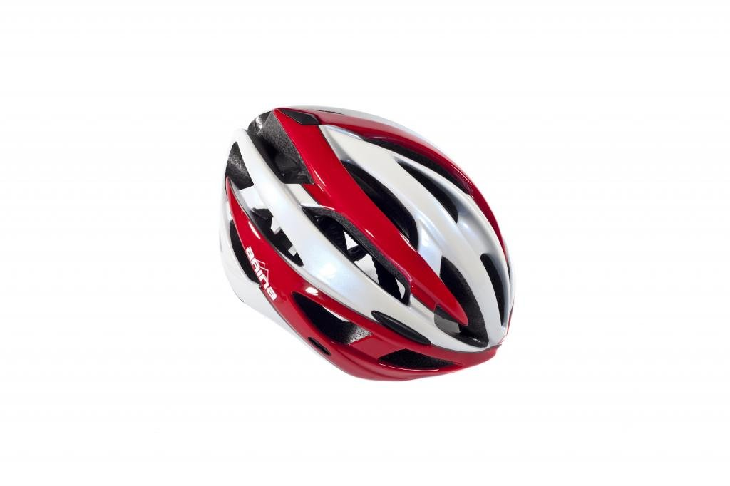 Fahrradhelm Arina Corse weiß rot