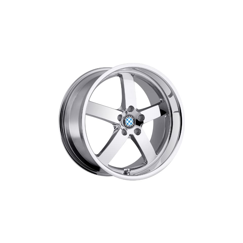 Beyern Rapp 18 Chrome Wheel / Rim 5x120 with a 30mm Offset and a 72.56 Hub Bore. Partnumber 1895BYR305120C72 Automotive