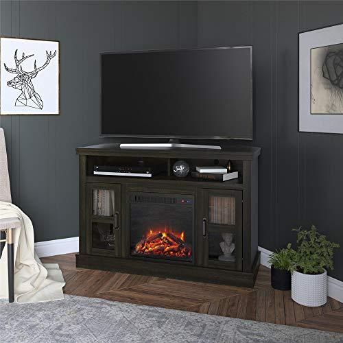 Cheap Ameriwood Home 9048852COM Tinley Park Corner Fireplace 54