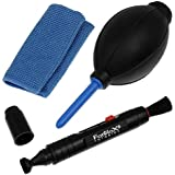 Fotodiox 3-Piece Care & Cleaning Kit for Film and Digital SLR Cameras and Lenses
