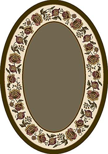 Signature Penelope Sage Rug Rug Size: Oval 3'10