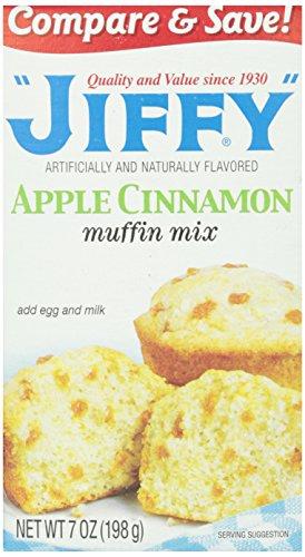 Jiffy Muffin Mix, Apple Cinnamon, 7 ()