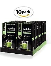100 capsule Matcha Green Tea da Zuccherare - 10 Confezioni da 10 Capsule Compatibili Nespresso®* 1 confezione GRATIS