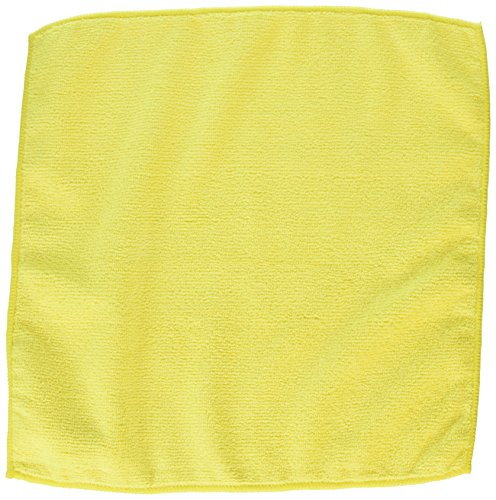 ALL RAGS All MFMP12 Length X Width, Yellow, Microfiber 12 Wiping Cloth