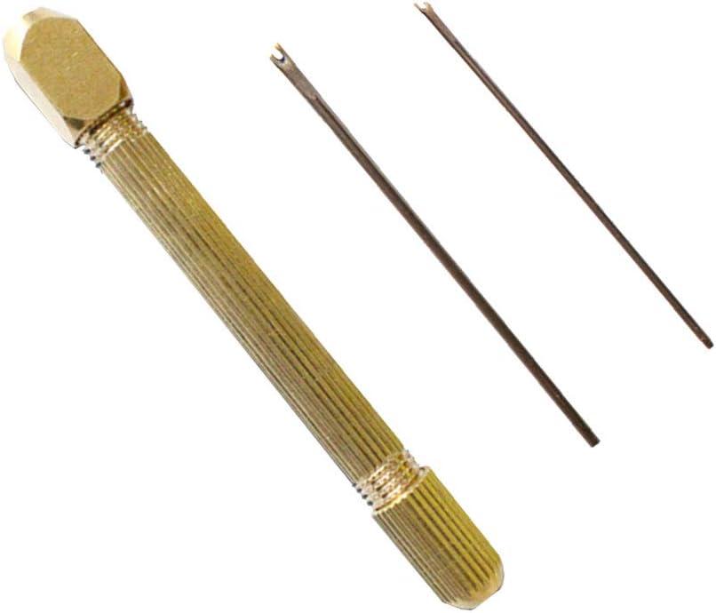 SUPVOX Doll Hair Rerooting Rehair Werkzeughalter mit 2 zusätzlichen Nadeln für D