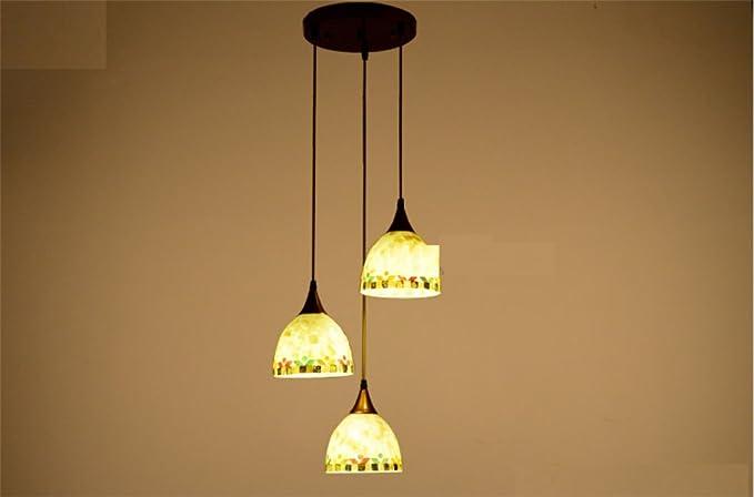 Lampadari E Plafoniere Tiffany : Conchiglia lampadario jane europeo mediterranea tiffany ristorante