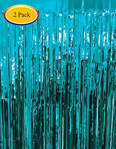 Moohome Aquamarine Curtain Backdrop Decoration product image