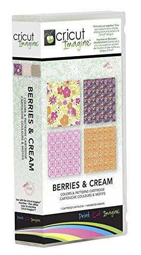 BERRIES & CREAM Cricut Imagine Color Pattern Print Machine Cartridge