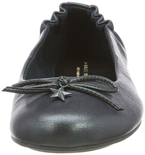 306 Hilfiger Flexible Ballerina Pine Tommy Women's Charm Flats Blue Sea Ballet Star xqPZ7