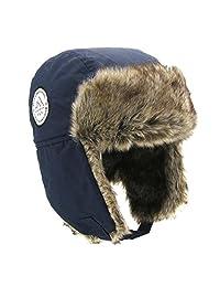 Moon Kitty Boys Winter Hats Big Kids Cowboy Cloth/Aviator Winter Earflap Cap