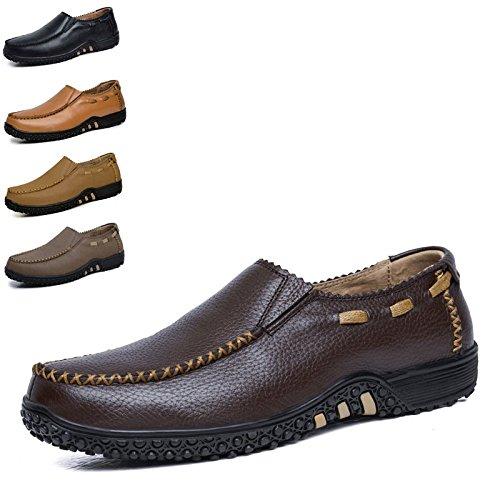 WLFHM Uomo Grandi Casual Scarpe Scarpe Scarpe H Dimensioni Stringate di Business 8rrEw