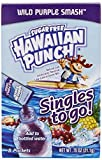 Hawaiian Punch Singles To Go Wild Purple Smash Drink Mix- 8 Ct .75 Oz (Pack of 6) by Hawaiian Punch