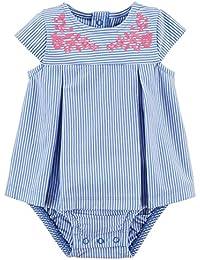 Baby Girls' Polka Dot Cat Sunsuit