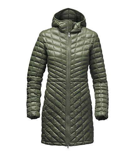 The North Face womens THERMOBALL HOODED PARKA CXH8HDA_M - ROSIN GREEN