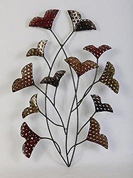 Gentiana A Floral Metal Wall Decor