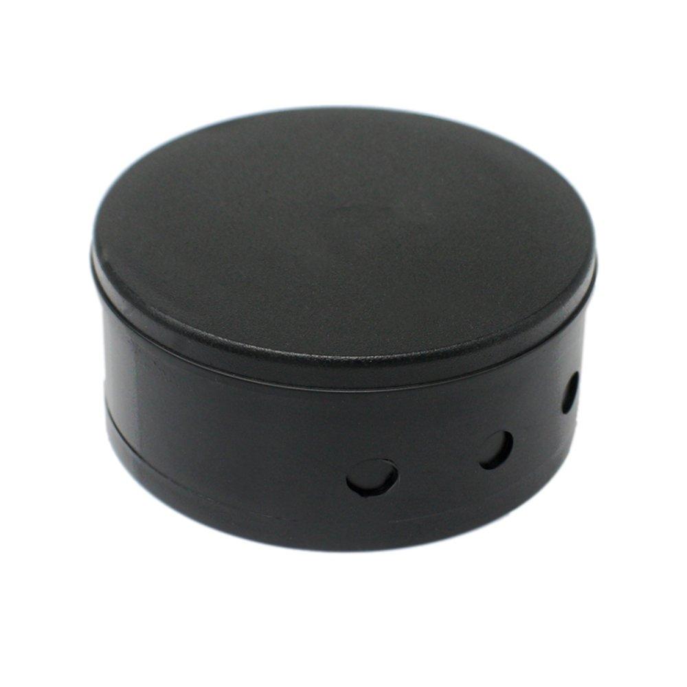 Verteilerdose Schwarz Kunststoff 2-tlg. mit Zubehör ø 70x31mm Verteilerbaldachin Aufputzdose Anschlussdose Unbekannt