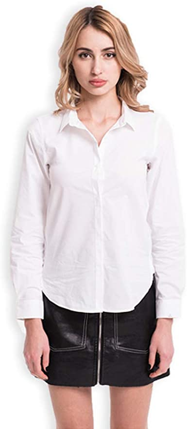 FOOXMET Camisa Impermeable antisuciedad, Antimanchas ...