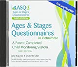 img - for Ages & Stages Questionnaires  in Vietnamese, Third Edition (ASQ-3  Vietnamese): A Parent-Completed Child Monitoring System book / textbook / text book
