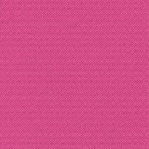 Linen-feel, Cloth-like Paper Disposable Napkins | 50 Pack | 1/4-Fold | 16'' x 16'' Dinner Size | Royal Collection ''Damascato design'' | 12 Color options (Hot Pink / Fuchsia)
