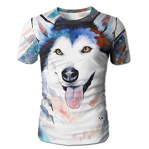 - Men 3D Print Shiba Breed Standard T-Shirts Crewneck Stylish Casual Tees Short Sleeve