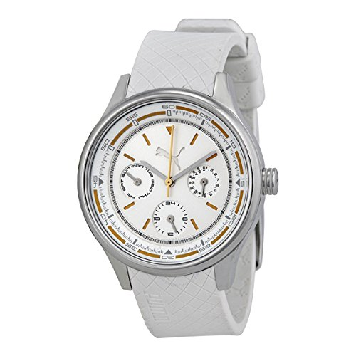 Puma Wheel Chrono - S Silver Women's watch #PU102742001