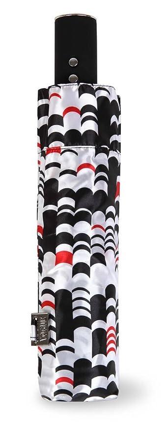 Paraguas de la Marca VOGUE, Plegable, Abre Cierra automático, con Bonito Estampado en