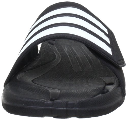 adidas Caruvo Vario - Chanclas para hombre, color negro (black 1/white/black 1)