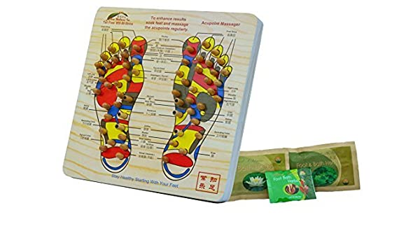 Amazon.com: Acupoint Foot Massager Stepping Board Plus 3 ...