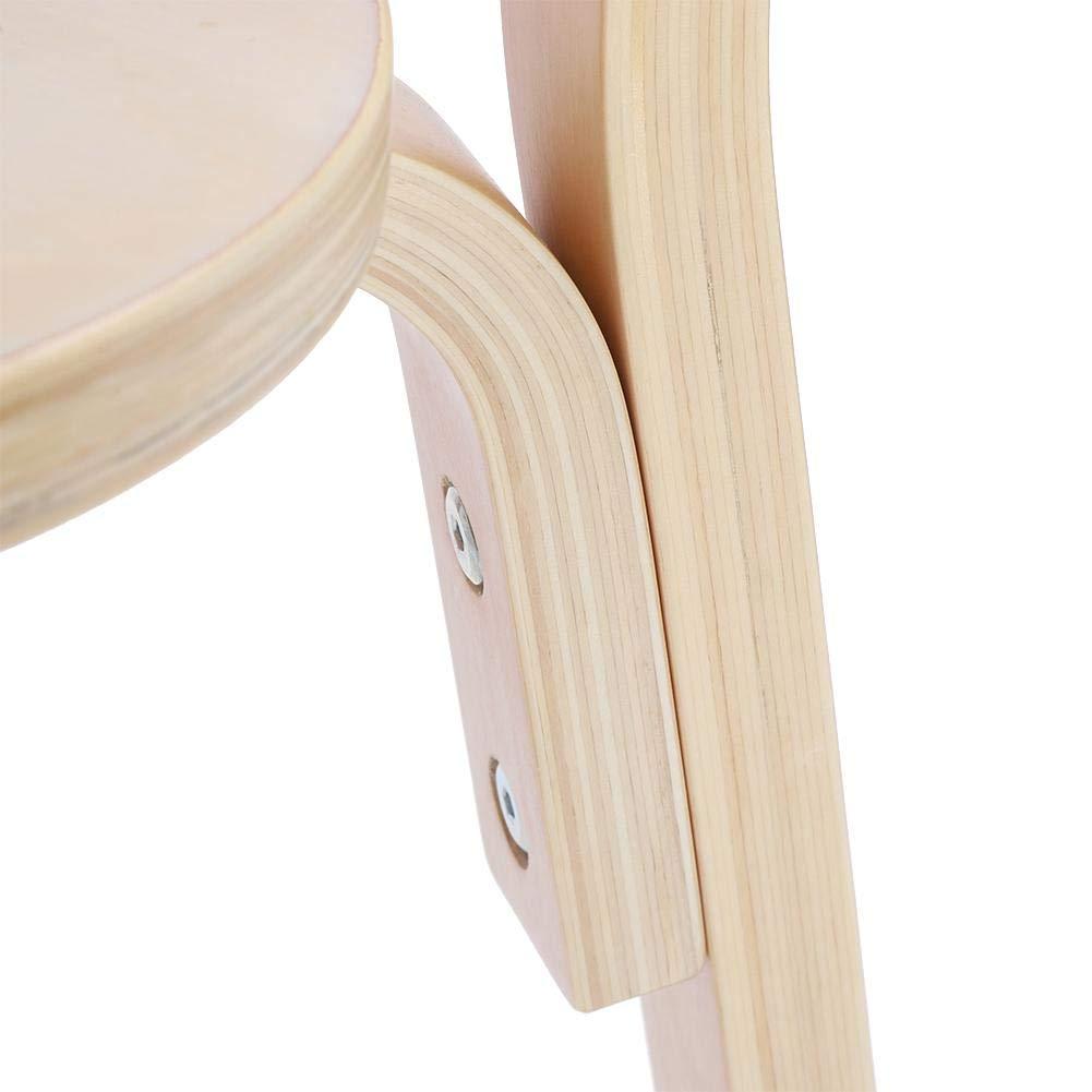 1 Tisch 60 x 60 x 51,5 cm Design mit abgerundeten Ecken Kinder Sitzgruppen aus Birke GOTOTOP Sitzgruppen 2 STK Stuhl 52 x 33 x 31,5 cm Sicher und ungiftig f/ür Kleinkinder