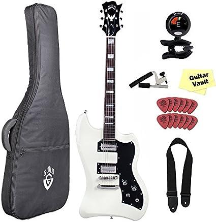 Hermandad T-Bird St VWT guitarra eléctrica (con funda y accesorios ...