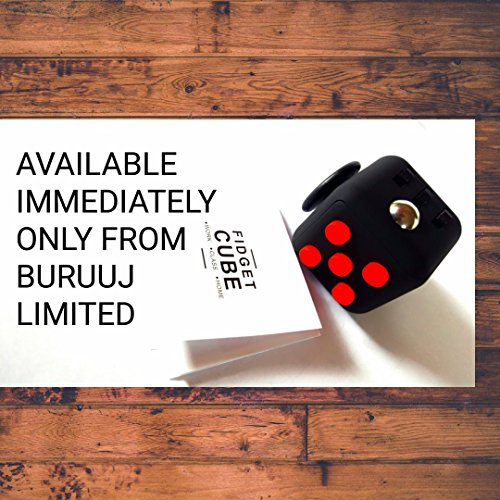 Fidget Cube Perfect Gift! (BLACK COLOUR) CANADIAN SELLER