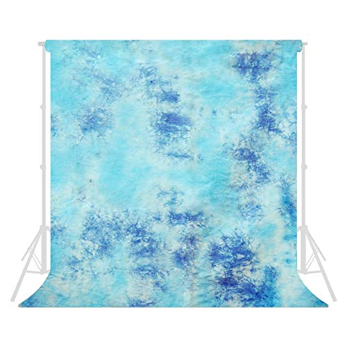 - LimoStudio 10 X 20 Ft Photo Studio Hand Dyed Sky Blue Muslin Backdrop Backgrounds, AGG150