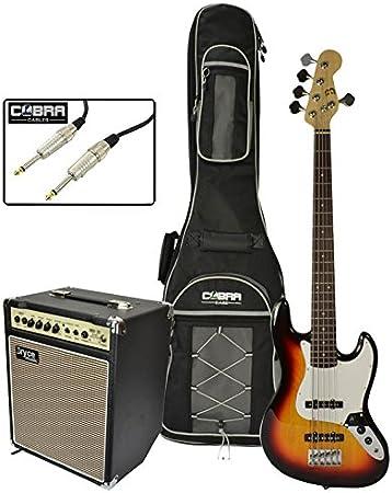 Bajo de 5 cuerdas para guitarra eléctrica con 20 W Amplificador y ...