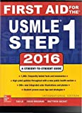 First Aid For The USMLE Step 1 2016 [Paperback] [Jan 01, 2016]