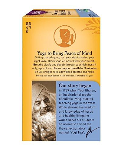 Yogi Honey Lavender Stress Relief Tea, 16 Tea Bags by Yogi Teas