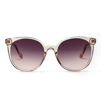 WFOYZNZ Gafas de Sol de Dama Gafas de Sol Redondas Gafas de ...