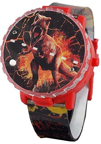 Jurassic Park Quartz Plastic Watch, Color:Black (Model: JRW4007)